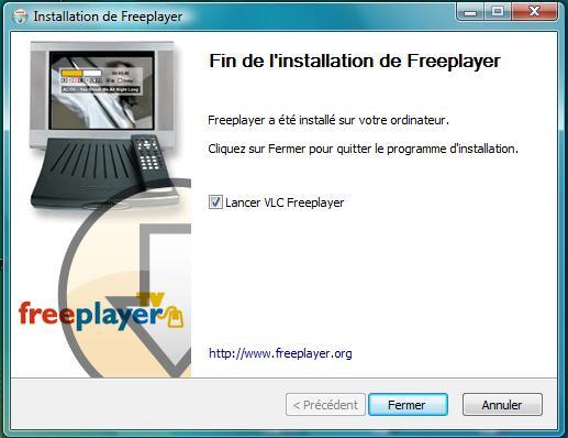 le logiciel freeplayer